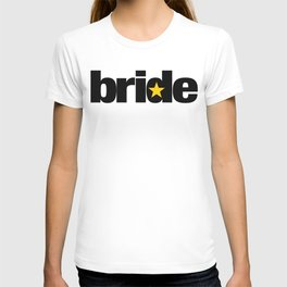 Bride Wedding Artwork - Entourage T-shirt