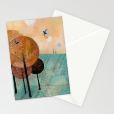 Trees & Birds Stationery Cards