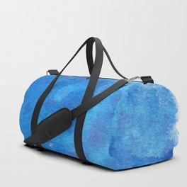 Cerulean Splash Duffle Bag