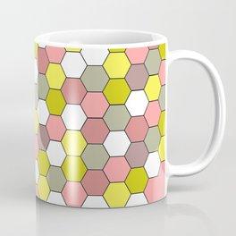 honeycomb tile mauve Coffee Mug