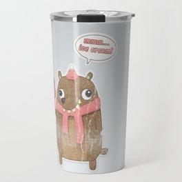 Icecream Bear Travel Mug
