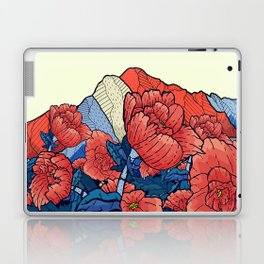 Mountain flowers Laptop & iPad Skin
