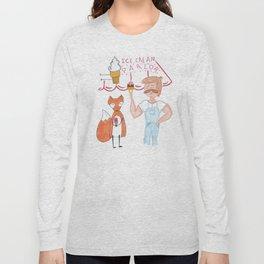 Ice Cream Parlor Long Sleeve T-shirt