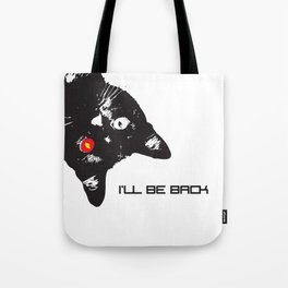 Cat Terminator Tote Bag