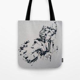 Splaaash Series - Dark Force Ink Tote Bag