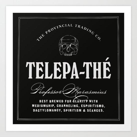 TELEPA-THÉ Art Print