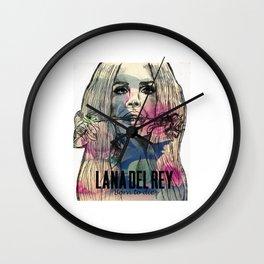 lana album del rey 2021 katrin4 Wall Clock