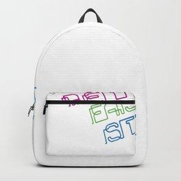 Harder Better Faster Stronger Backpack