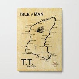 Isle Of Man TT Races Metal Print