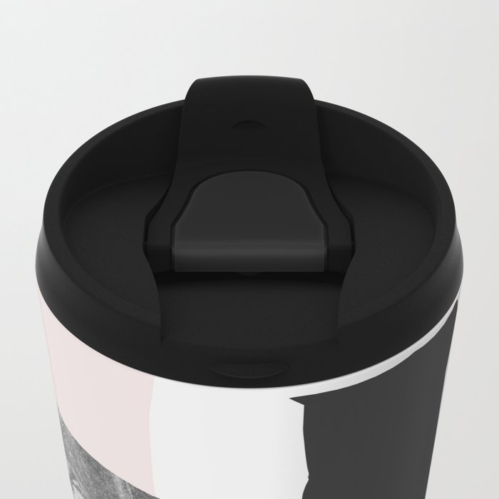 On the wall Metal Travel Mug