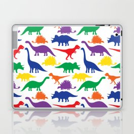 Dinosaurs - White Laptop & iPad Skin