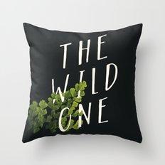 The Wild One Throw Pillow