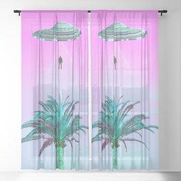 Taken Sheer Curtain