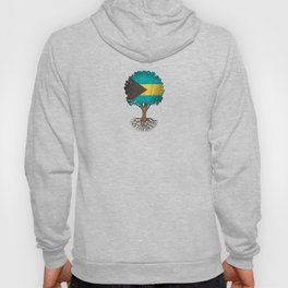 Vintage Tree of Life with Flag of Bahamas Hoody