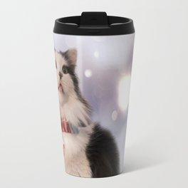 The Oreo Cat: Winter Wonderland Travel Mug