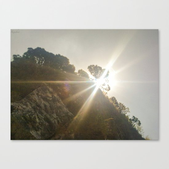 Shine Over Me Canvas Print