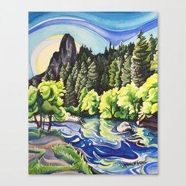 Light Runs Through It Canvas Print
