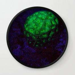 Fluorescent ball Wall Clock
