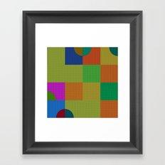 b 1 1 1 - b 0 0 0 Framed Art Print