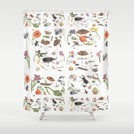 Common place miracles -Natural History Part V Shower Curtain