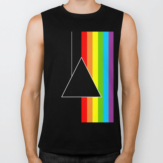 Tribute Pink Floyd | Dark Side Of The Moon Biker Tank