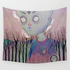 Little Ghost Wall Tapestry