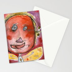 I feel excited Stationery Cards
