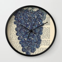Doodle Bunch Wall Clock