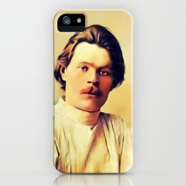 Maxim Gorky, Literary Legend iPhone Case