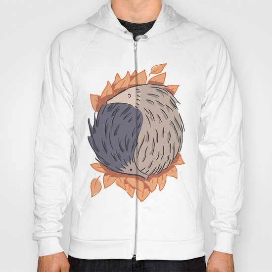 Hedgehog Yin Yang Hoody