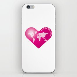 Love for the Earth_P iPhone Skin