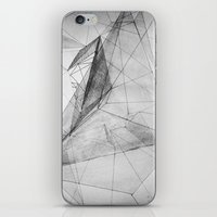 triangle iPhone & iPod Skins featuring triangle by Katekima