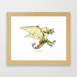 Awesomest Dinosaur Framed Art Print