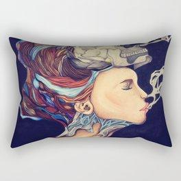 Smoke and Bone Rectangular Pillow