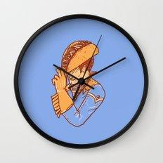 Taco Cowboy Wall Clock