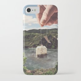 Lake afternoon tea iPhone Case