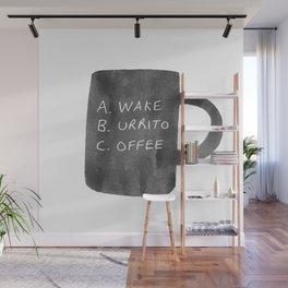 Morning Breakfast Coffee Mug Wall Mural
