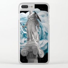 She Takes on the World Clear iPhone Case