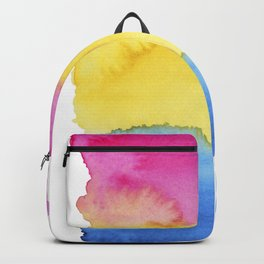 Pansexual Flag Backpack