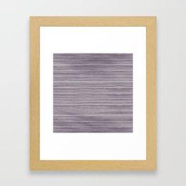 Summer Beach House Whitewashed Purple Pastel Decking Framed Art Print