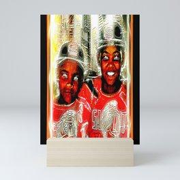 Sandlot Kingz: Prince Tyme and Titian 01 Mini Art Print