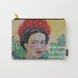 frida y las flores Carry-All Pouch