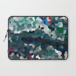 Emerald Sea Green Moon Love Laptop Sleeve
