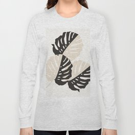Monstera Delicious #1 #minimal #tropical #decor #art #society6 Long Sleeve T-shirt