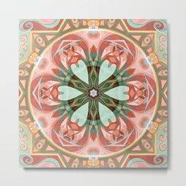 Mandalas of Forgiveness & Release 7 Metal Print