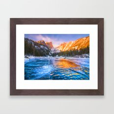 Dream Lake Framed Art Print