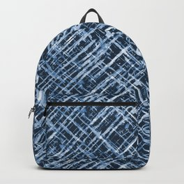 Criss Cross Watercolor Stripes Backpack