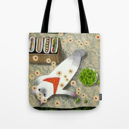 Cat Going for a Picnic series 3 Tote Bag