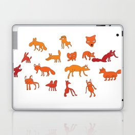 Weird Foxes Laptop & iPad Skin