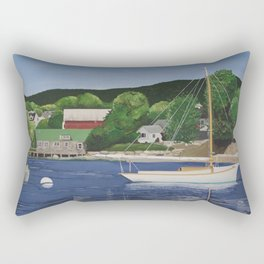 Southwest Harbor, Maine Rectangular Pillow